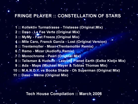 Fringe Player - Constellation of Stars
