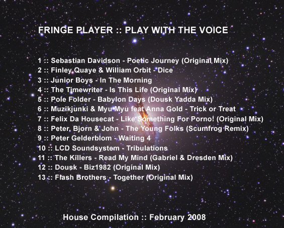 Fringe Player - Play with the Voice