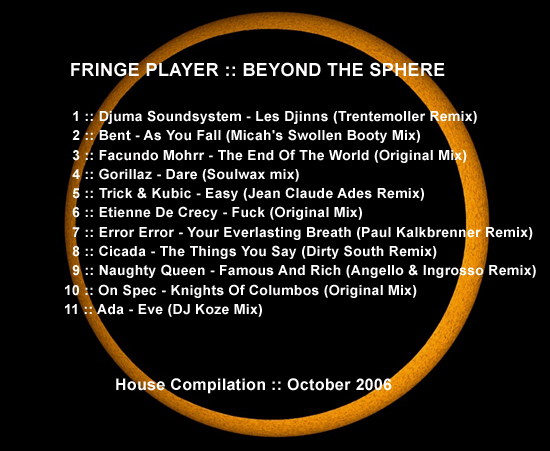 Fringe Player - Beyond the Sphere